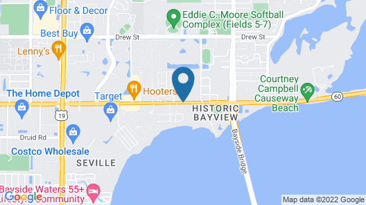 Days Inn by Wyndham Clearwater/Gulf to Bay Map