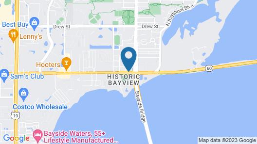 Fairfield Inn & Suites by Marriott Clearwater Map