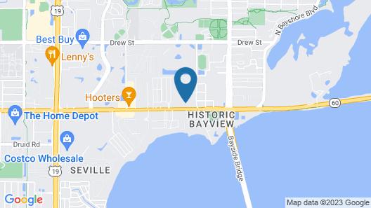 Clearwater Inn Map