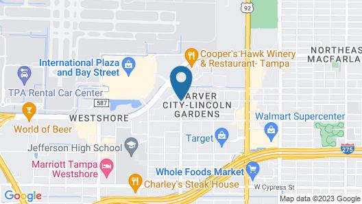 Fairfield Inn & Suites Tampa Westshore / Airport Map