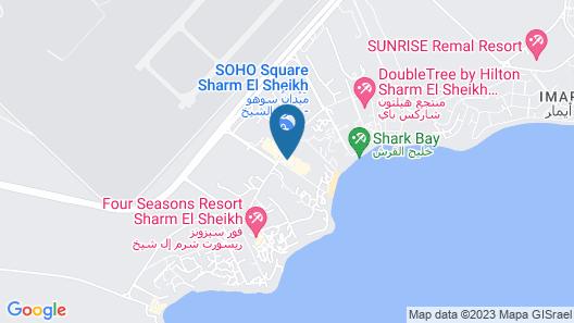 Savoy Sharm Map