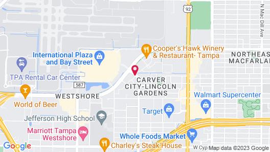 Residence Inn by Marriott Tampa Westshore/Airport Map