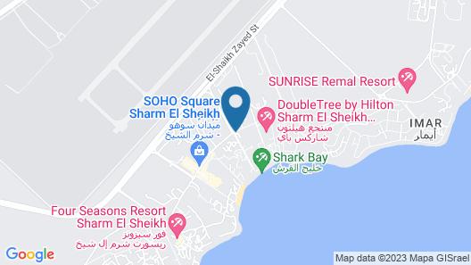 Concorde El Salam Hotel Sharm El Sheikh Map