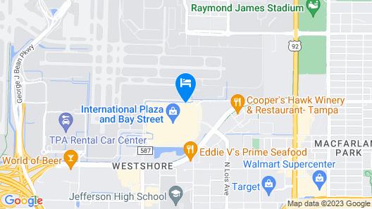 Renaissance Tampa International Plaza Hotel Map