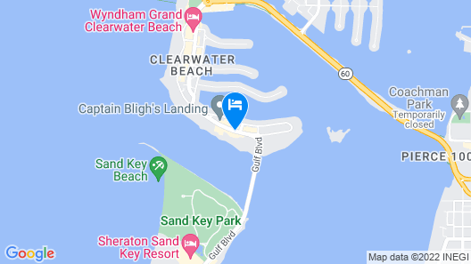 Coconut Cove All-Suite Hotel Map