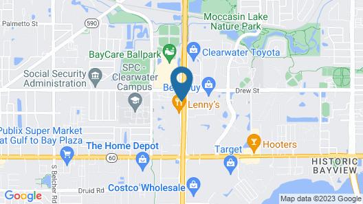 La Quinta Inn by Wyndham Clearwater Central Map