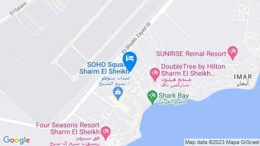 Island Garden Resort Map
