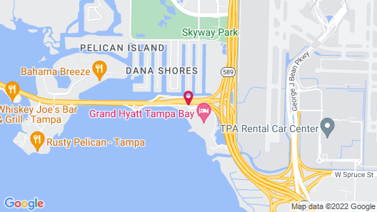 Grand Hyatt Tampa Bay Map