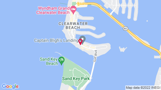 Gulfview Hotel on the Beach Map