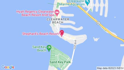 Shephard's Beach Resort Map