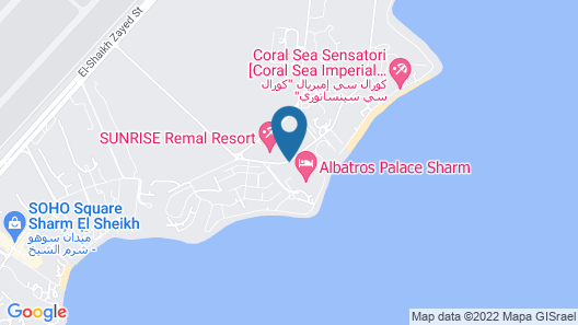 Albatros Palace Sharm - Families and couples only Map