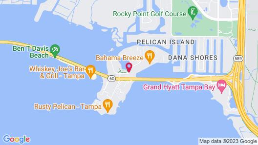 Westin Tampa Bay Hotel Map