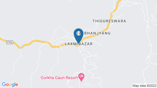 Gorkha Gaun Resort Map