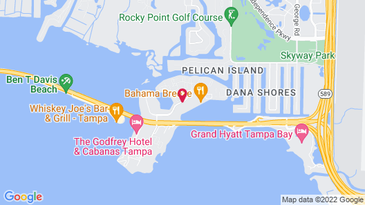 Hampton Inn Tampa-Rocky Point Map