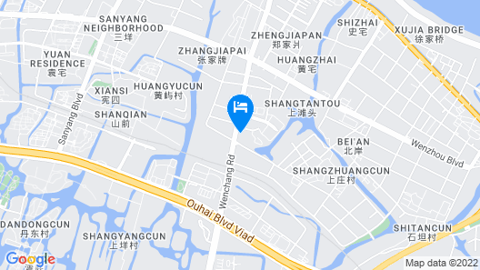 ibis Styles Wenzhou Heart Workshop Map