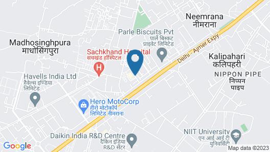 STARLIT SUITES Map