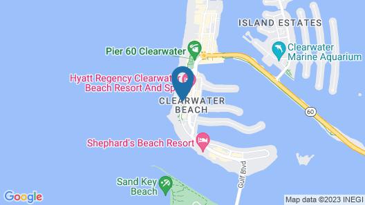 The Beachview Hotel Map