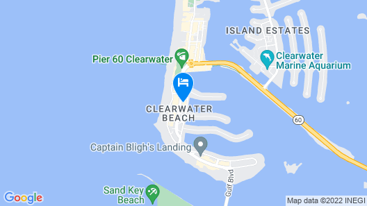 SpringHill Suites by Marriott Clearwater Beach Map