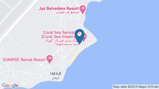 Baron Palms Resort Sharm El Sheikh - Adults Only Map