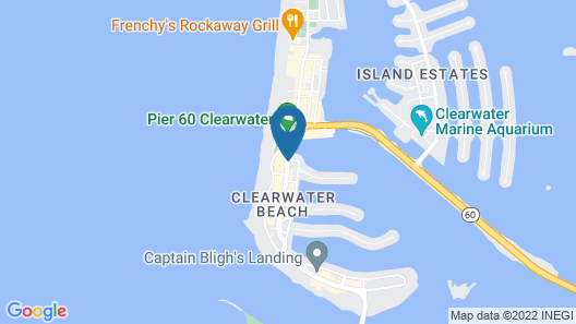 Wyndham Grand Clearwater Beach Map