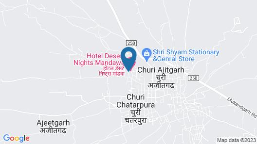 Desert Nights Map