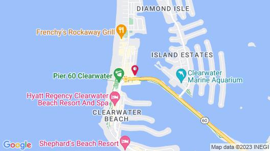 Barefoot Bay Resort & Marina Map