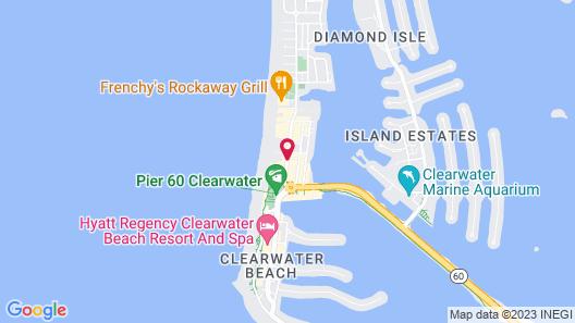 Hilton Clearwater Beach Resort & Spa Map