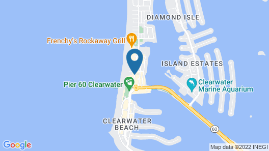 Hilton Clearwater Beach Resort & Spa Map