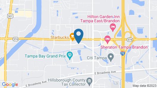 Residence Inn by Marriott Tampa Sabal Park/Brandon Map