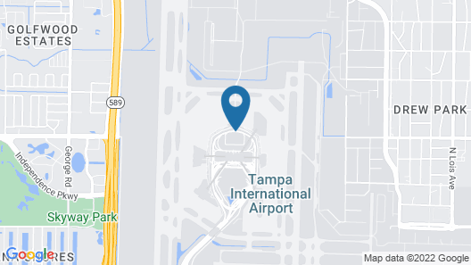 Tampa Airport Marriott Map