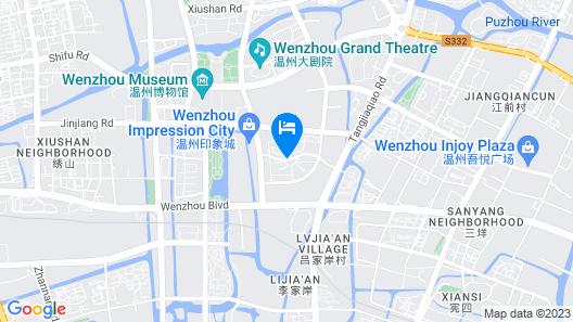 WenZhou Dongou Hotel Map