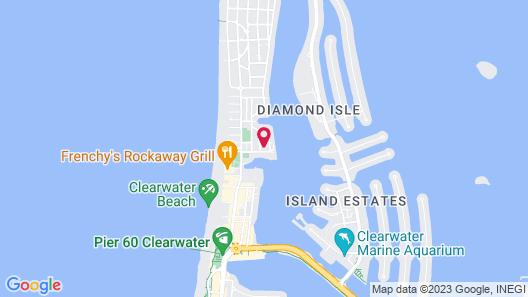 Bamboo Beach Club Map