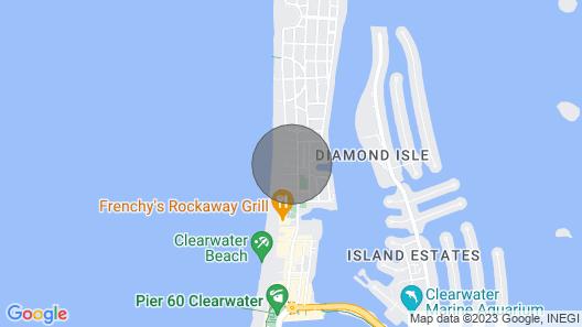 Coconut Palm 2 Beach Getaway Map
