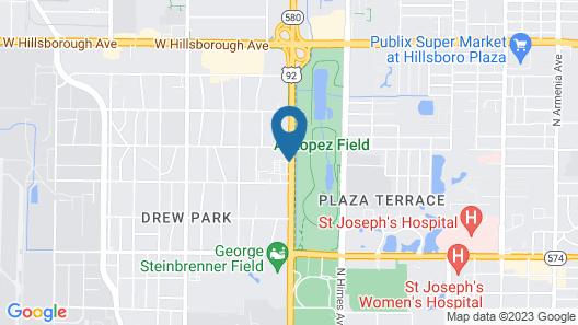 Country Inn & Suites by Radisson, Tampa RJ Stadium Map