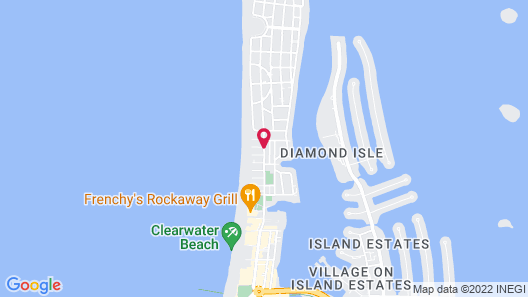 Royal North Beach All Suites Map