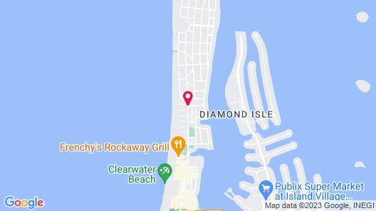 Hotel Cabana Clearwater Beach Map