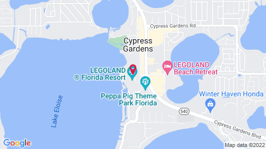 Legoland Beach Retreat Map