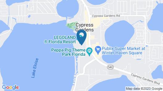 Legoland Beach Retreat Map