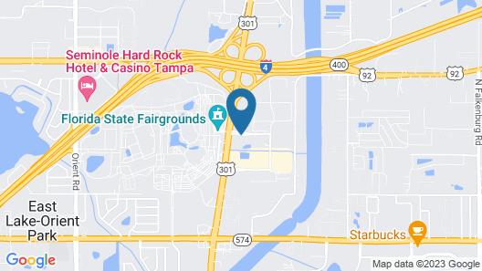 La Quinta Inn & Suites by Wyndham Tampa Fairgrounds - Casino Map