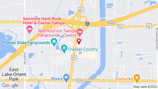 Holiday Inn Express Hotel & Suites Tampa-Fairgrounds-Casino, an IHG Hotel Map