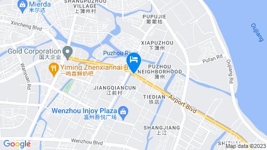 ibis Wenzhou Airport Avenue Map