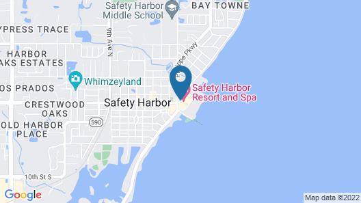 Safety Harbor Resort & Spa Trademark Collection by Wyndham Map