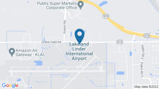 Staybridge Suites Lakeland West, an IHG Hotel Map