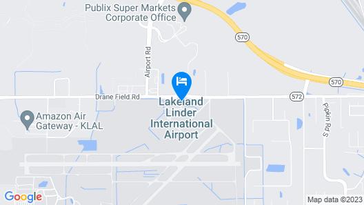 Staybridge Suites Lakeland West, an IHG Hotel Map
