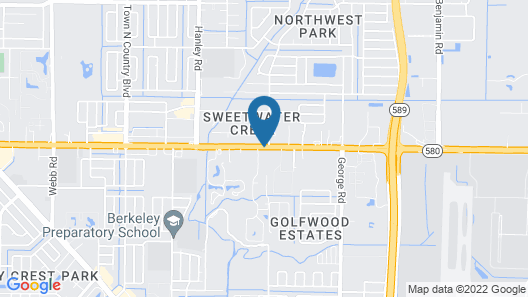 Suburban Extended Stay Hotel Airport Map