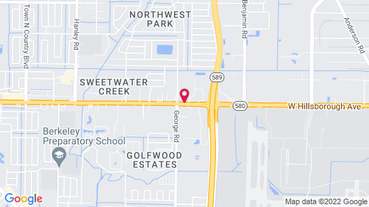 Extended Stay America - Tampa - North Airport Map