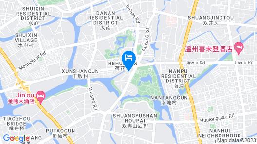 The Westin Wenzhou Map