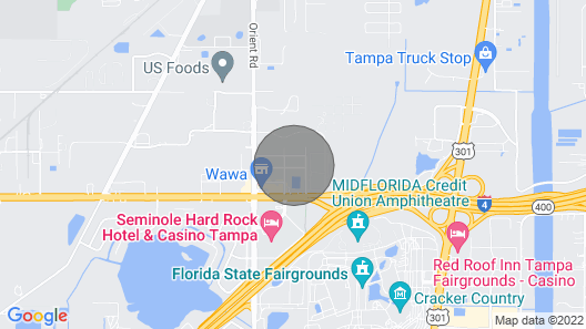 The Hard Rock House Map
