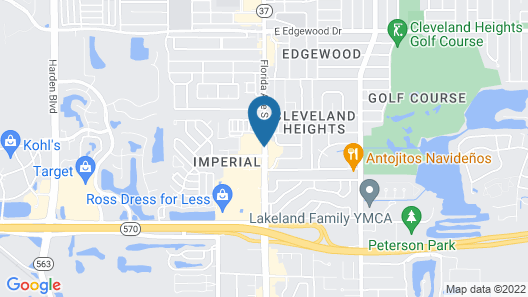 Holiday Inn Express & Suites Lakeland South, an IHG Hotel Map
