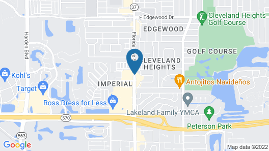 Holiday Inn Express & Suites Lakeland South Map